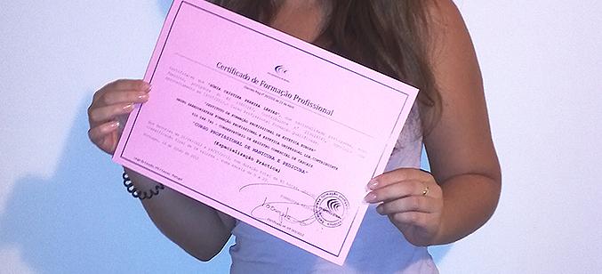 Certificado manicure e pedicure IFP Estética Europa