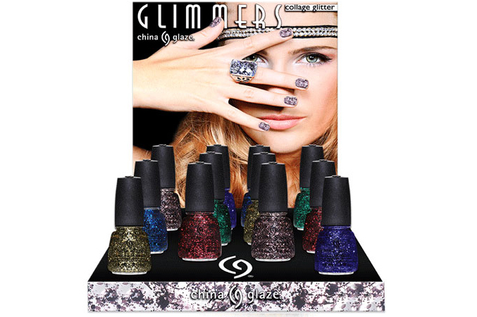 China Glaze Glimmers Winter 2012 Collection