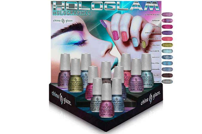 China Glaze Hologlam Holographic Spring 2013 Collection