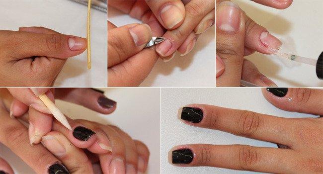 O que é necessário para fazer uma manicure