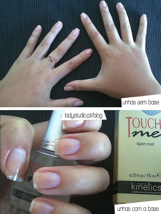 review kinetics touch me base coat