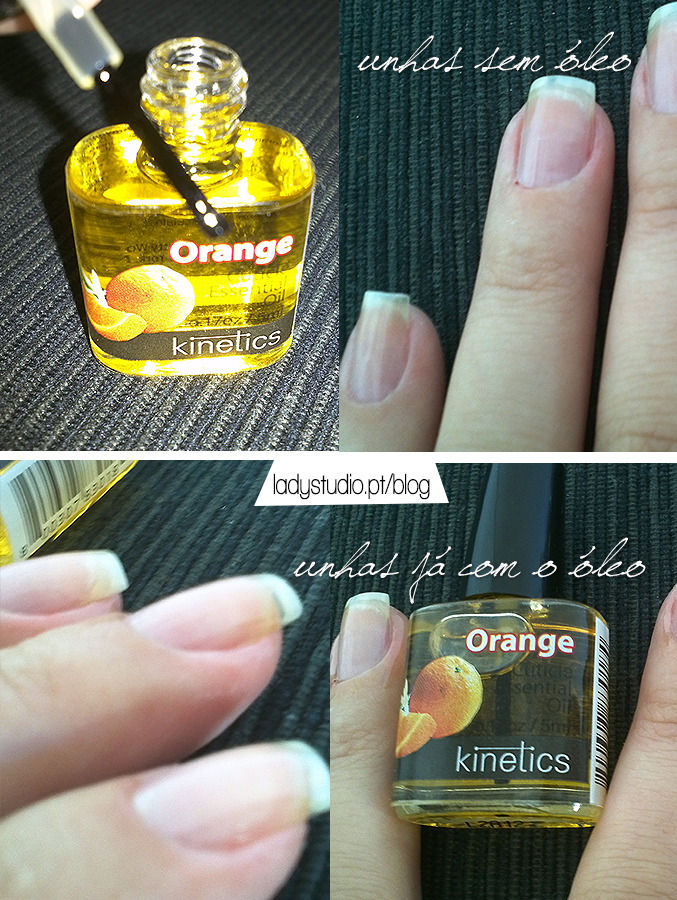 Review Kinetics Cuticle Oil