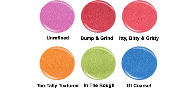 China Glaze Texture cores