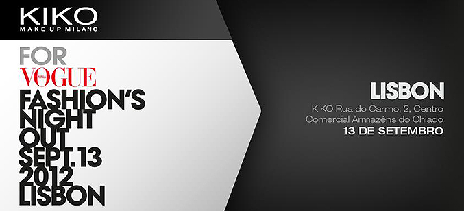 KIKO for Vogue Fashion's Night Out – Lisboa