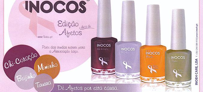 Vernizes Inocos lançam Coleção Afetos a favor da Laço
