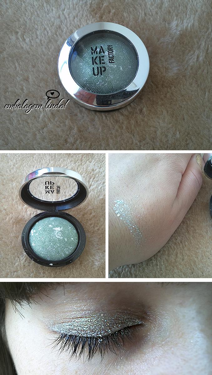 Sombra Luxury Metallic Eye Shadow 60 da Make Up Factory