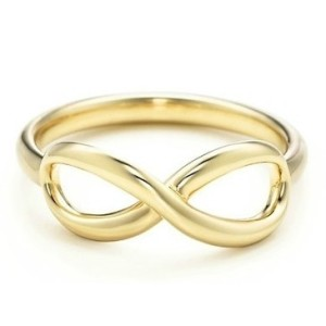 14kt Gold Plated Infinity Ring Directioner Wedding Gold Color Ring