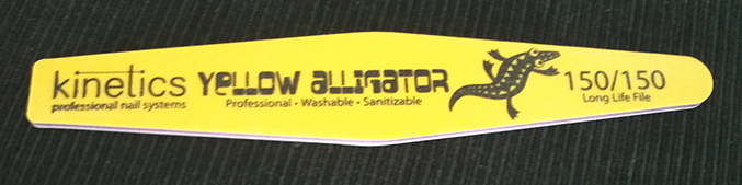 kinetics yellow alligator 150 150 long life file