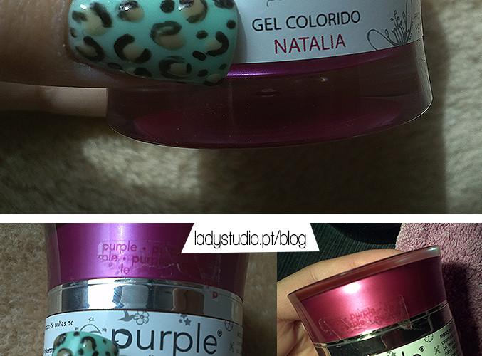 [Opinião] Purple Professional Gel de cor Natalia