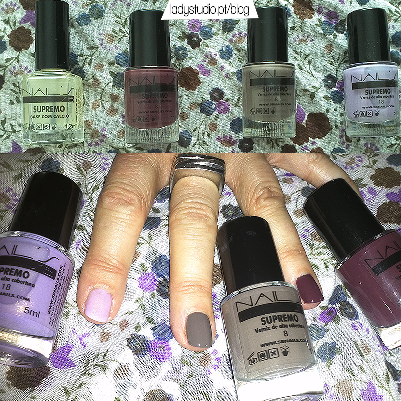 SB Nails Supremo verniz de alta cobertura
