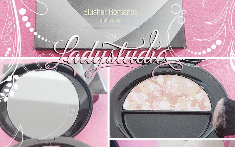 Opinião: Blusher Romance multicolor da LCN
