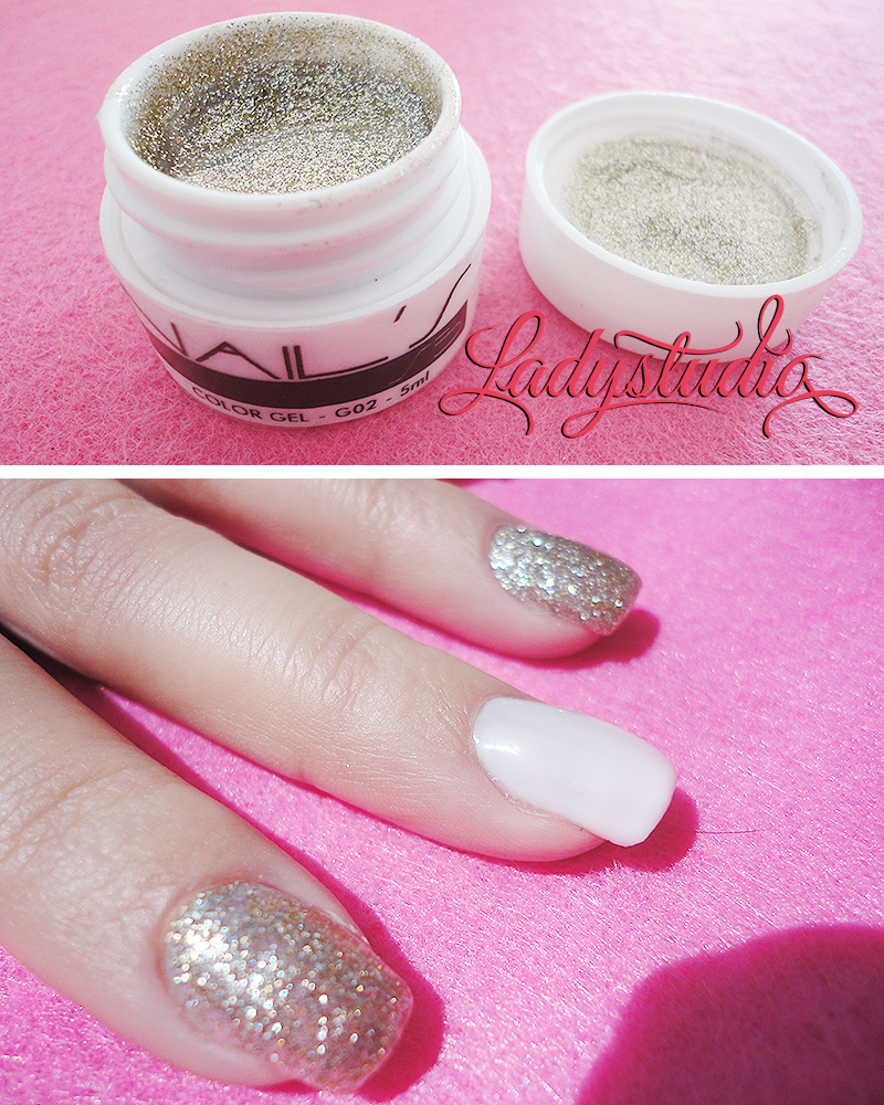 SB Nails Color Gel G02 Glitter