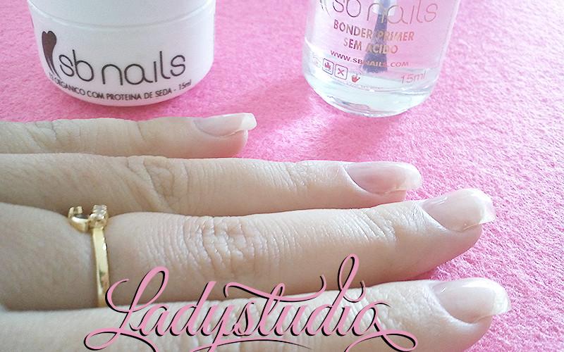 Opinião: SB Nails T3 orgânico com proteina de seda e SB Nails Bonder/Primer sem ácido