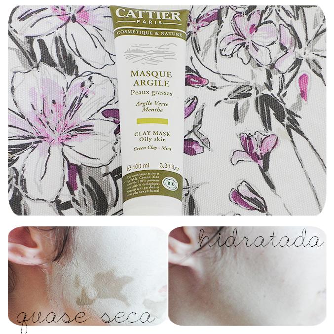Máscara de argila para peles oleosas da Cattier