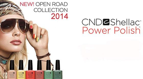 [Lançamento] CND Shellac Open Road Spring Collection