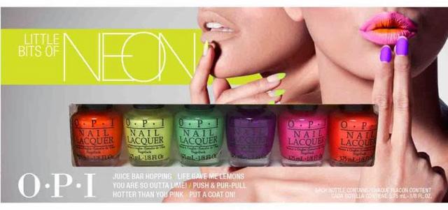 OPI Neon Collection para o verão 2014