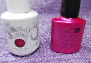 Round 1 {Shellac vs. Gelish}